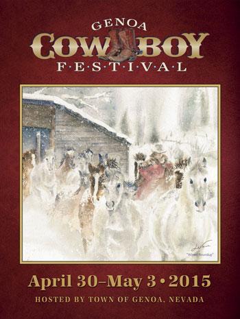 Genoa Cowboy Festival Poster 2015