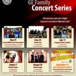 GE Family Concert Series Poster 2015
