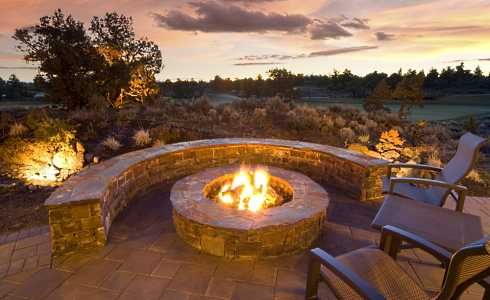 Perfect Stone Fire Pit Designs3