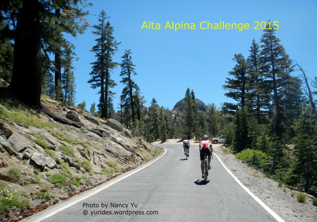 Alta Alpina Challenge - Photo courtesy of Nancy Yu